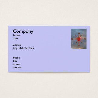 Moral Compass Business Card