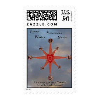 Moral Compass Postage