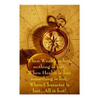 Moral Compass Poster