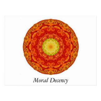 Moral decency T-Shirt Postcard