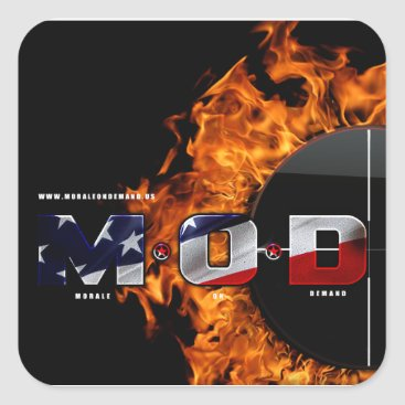 Morale On Demand • M.O.D. Square Sticker