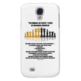 Moralejas del ajedrez reflexivo de Benjamin Frankl Funda Para Galaxy S4