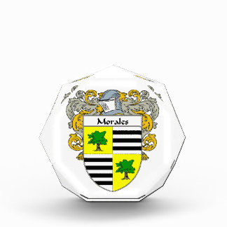 Morales Coat of Arms Family Crest Awards