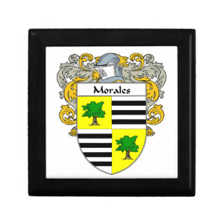 Morales Coat of Arms/Family Crest Jewelry Box