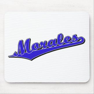Morales en azul tapetes de ratones