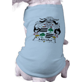 Morales Family Crest Pet Shirt