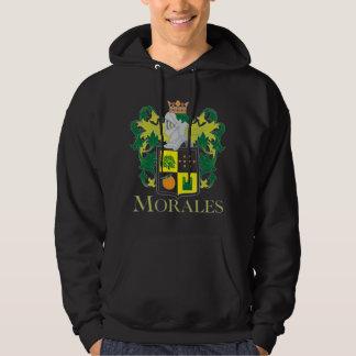 Morales Family Crest hoody - dark