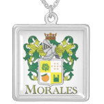 Morales Family Crest - Necklace