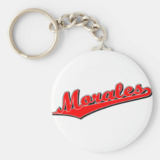 Morales in Red Keychain