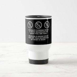 Morality and Religion Travel Mug