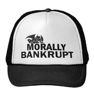 MORALLY BANKRUPT HAT