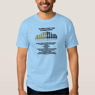 Morals Of Chess Benjamin Franklin Reflective Chess Tee Shirt