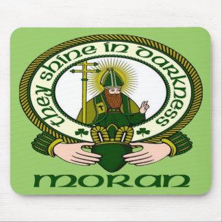 Moran Clan Motto Mouse Pad