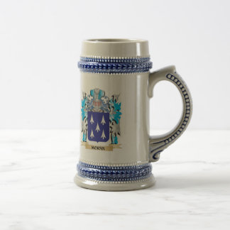 Moran Coat of Arms - Family Crest 18 Oz Beer Stein