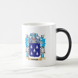 Moran Coat of Arms - Family Crest 11 Oz Magic Heat Color-Changing Coffee Mug