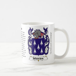 Moran Family Coat of Arms mug
