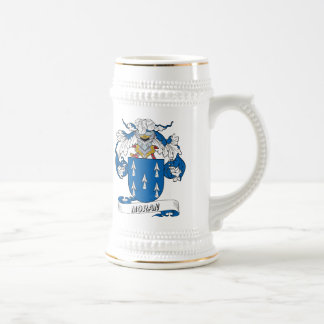 Moran Family Crest 18 Oz Beer Stein