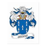 Moran Family Crest Postcard