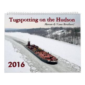 Moran & Vane Brothers Tugspotting 2016 Calendar