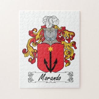 Morando Family Crest Jigsaw Puzzles