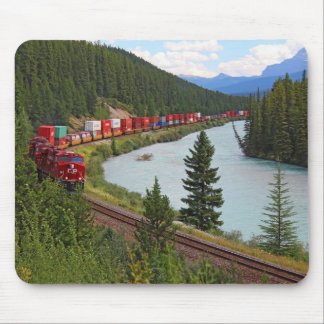 Morant's Curve Railway and Bow River Mouse Pad