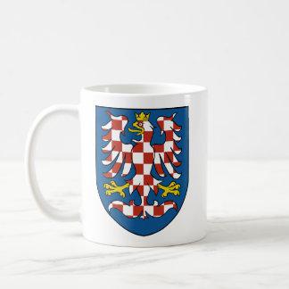 Moravia, checa taza básica blanca