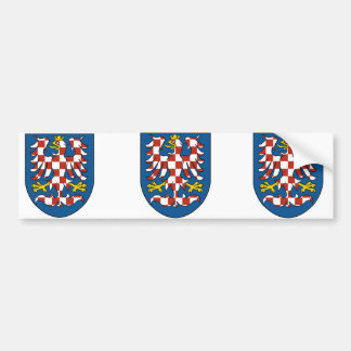 Moravia, Czech Car Bumper Sticker