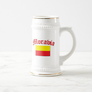 Moravia Flag 1 Beer Stein