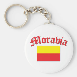 Moravia Flag 1 Keychain