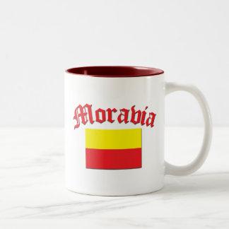 Moravia Flag 1 Two-Tone Coffee Mug