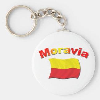 Moravia Flag 3 Keychains