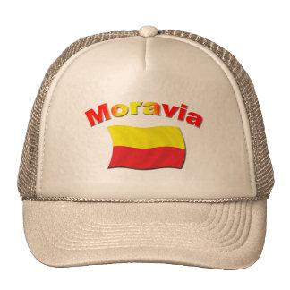 Moravia Flag 3 Trucker Hat