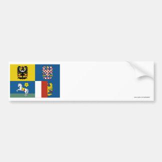 Moravia-Silesia Flag Bumper Sticker