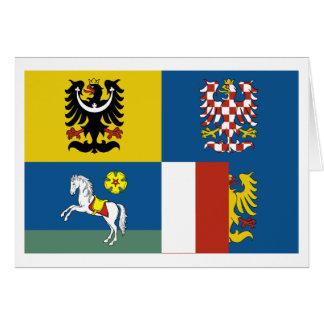Moravia-Silesia Flag Card