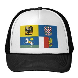 Moravia-Silesia Flag Trucker Hat