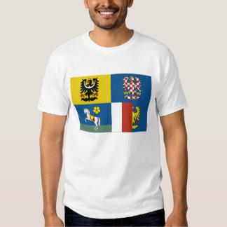 Moravia-Silesia Flag Tee Shirt
