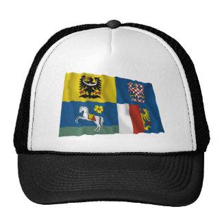 Moravia-Silesia Waving Flag Trucker Hat