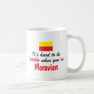Moravian humilde taza básica blanca