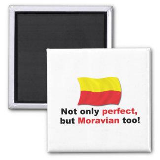 Moravian perfecto imán cuadrado