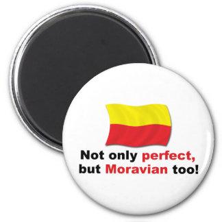 Moravian perfecto imán redondo 5 cm