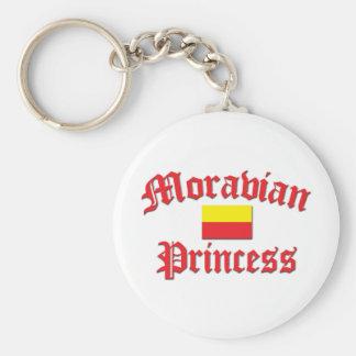 Moravian Princess Keychain