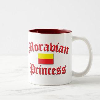 Moravian Princess Two-Tone Coffee Mug
