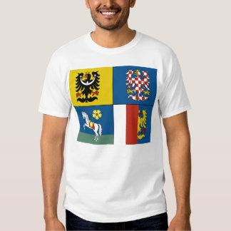 Moravian Silesian Region, Czech Tee Shirt