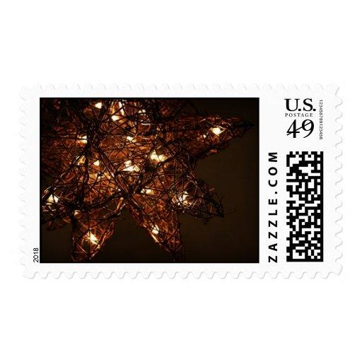 Moravian Star Postage Stamp