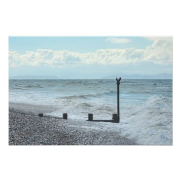 Beach Themed Moray Coast Photo Print