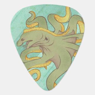 Moray Eel Octopus Guitar Pick