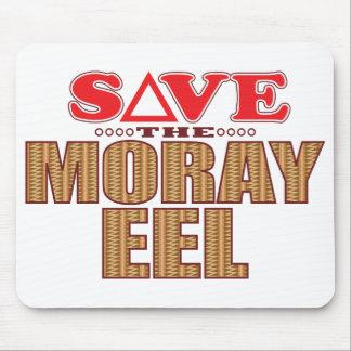 Moray Eel Save Mouse Pad