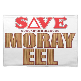 Moray Eel Save Placemat