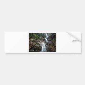 Moray falls waterfall in Sri Lanka Bumper Sticker