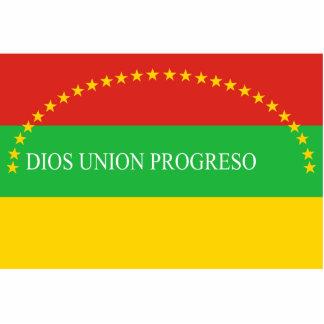 Morazan Department, El Salvador flag Statuette